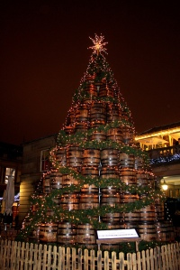 jack Daniels barrel tree